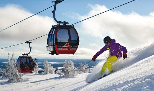 Ylläs – the largest ski resort in Finland